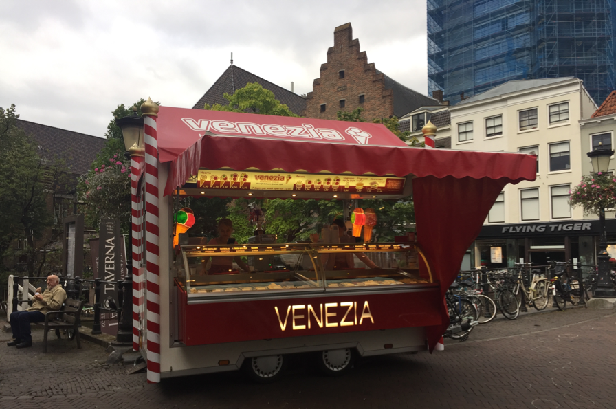 Venezia Ice Cream cart