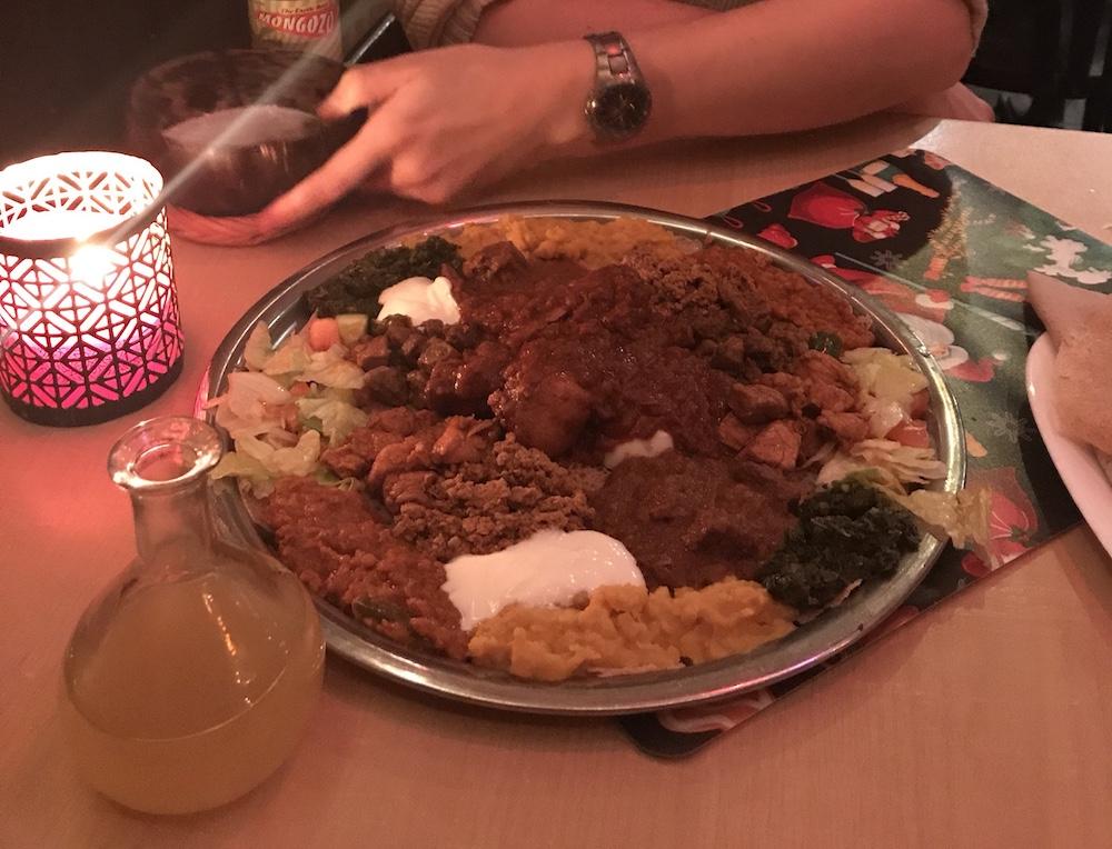 Ethiopian Dish - Utrecht